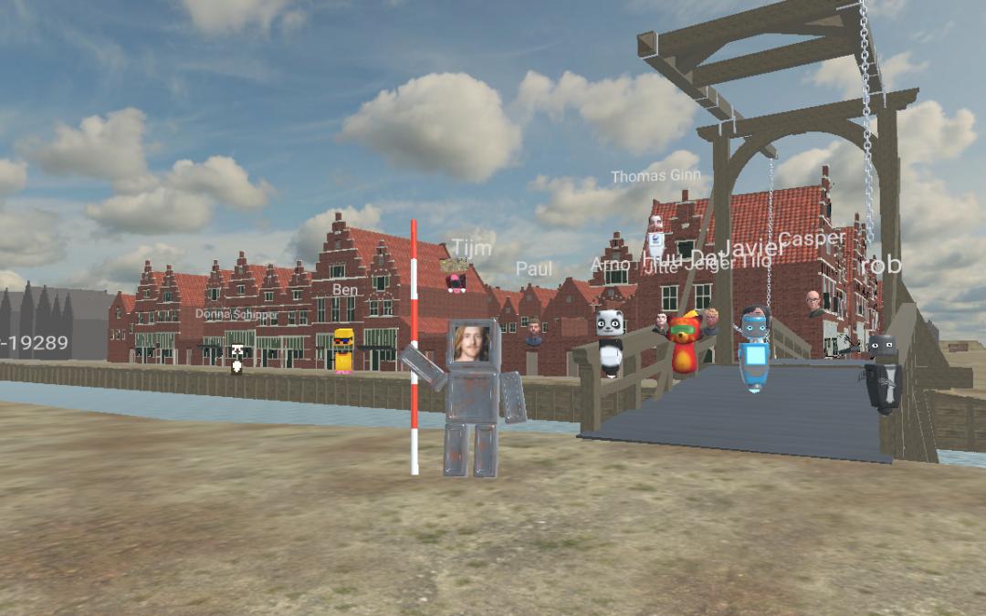 A 3D Exploration of the Material Past | recap meetup #4