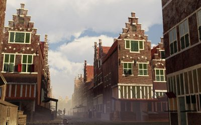 Making a digital reconstruction of the Amsterdam neighbourhood Vlooienburg accessible in virtual reality – an interview with the creators